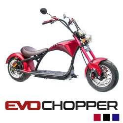 EvoChopper : moto chopper électrique homologuée route