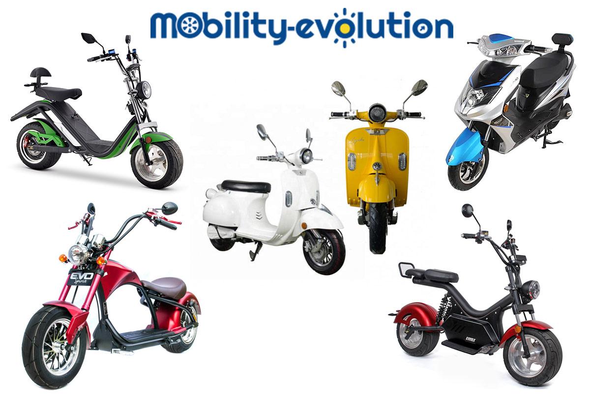 Retrouvez toute notre gamme de scooters électriques, qu'il soit de style rétro, chopper, citadin, ou classique, il y a forcément un modèle qui vous conviendra.