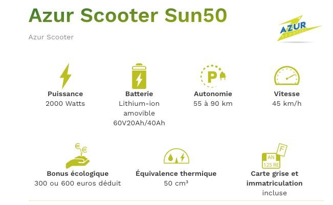 Scooter-électrique-Azur-Scooter-Sun50-